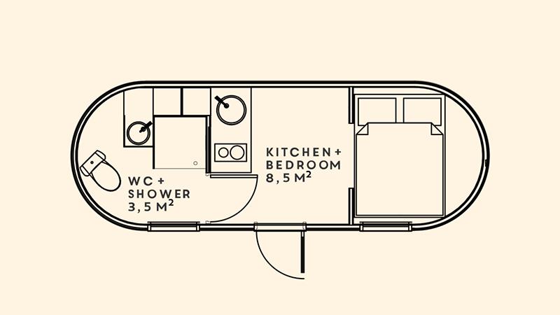 model 3 floorplan