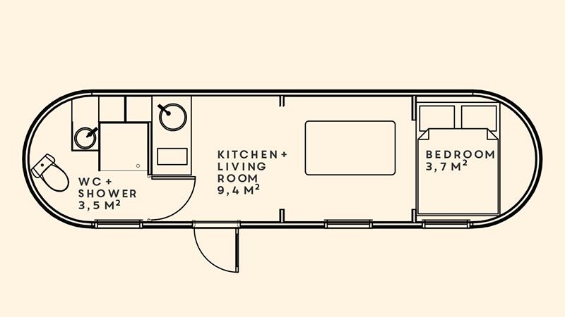 model 4 floorplan