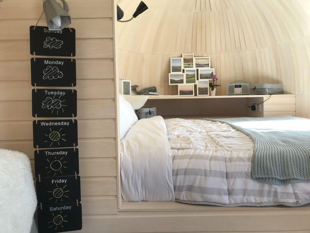The Pasty main bedroom