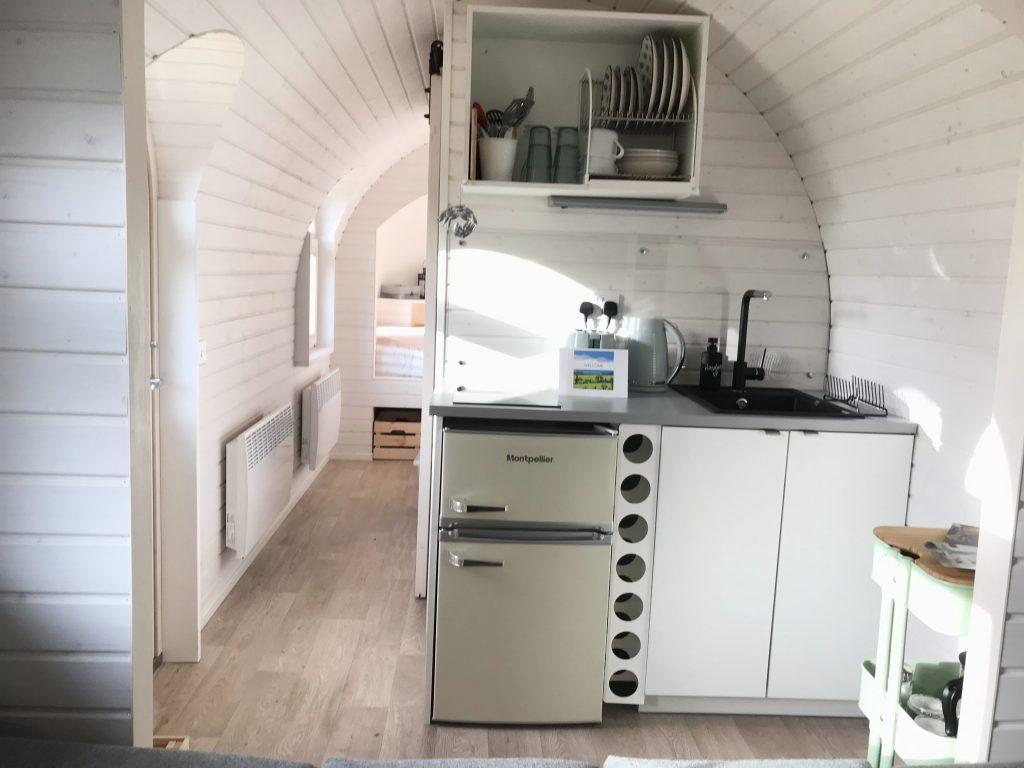 The Pilchard kitchen