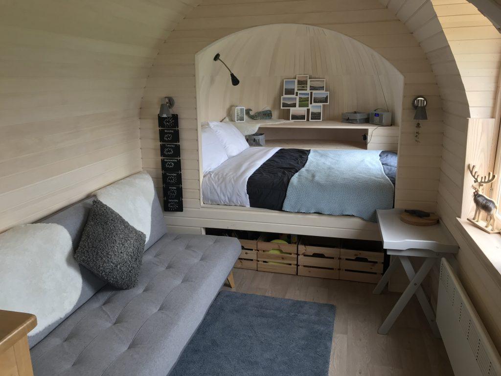 The Pasty interior